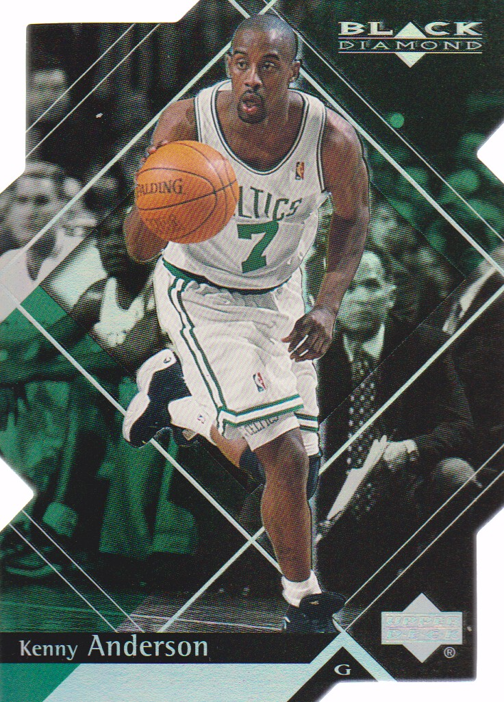 1999-00 Black Diamond Diamond Cut #4 Kenny Anderson