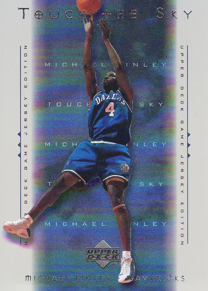2000-01 Upper Deck Touch the Sky #T3 Michael Finley