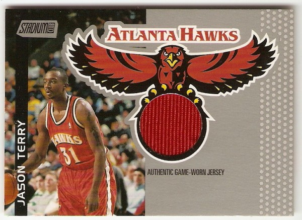 2000-01 Stadium Club Game Jerseys #SCAH2 Jason Terry