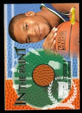 2000-01 Fleer Showcase In the Paint #P11 Etan Thomas