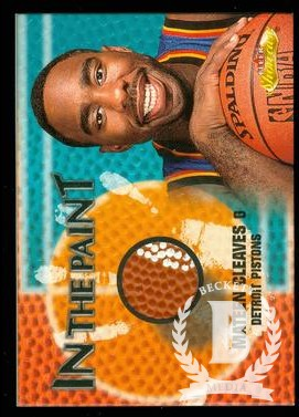 2000-01 Fleer Showcase In the Paint #P13 Mateen Cleaves