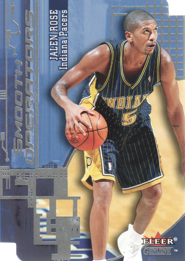 2000-01 Fleer Genuine Smooth Operators #SO15 Jalen Rose