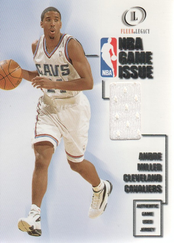 2000-01 Fleer Legacy NBA Game Issue #GI11 Andre Miller