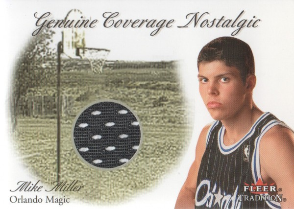2000-01 Fleer Genuine Coverage Nostalgic #10 Mike Miller