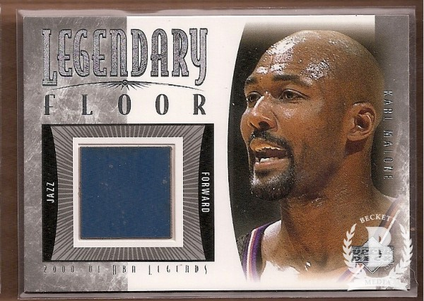 2001-02 Upper Deck Legends Legendary Floor #KMF Karl Malone