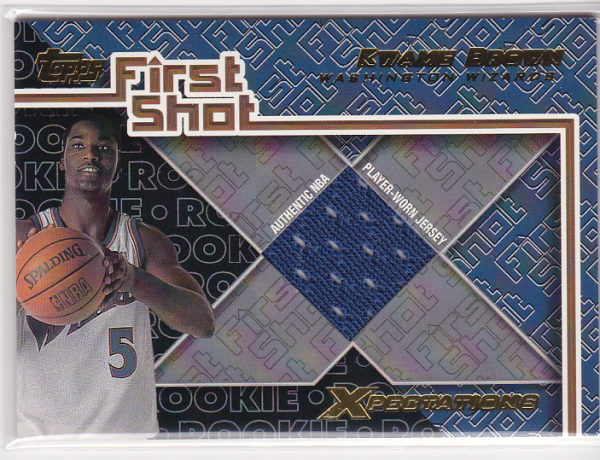 2001-02 Topps Xpectations First Shot #FS1 Kwame Brown