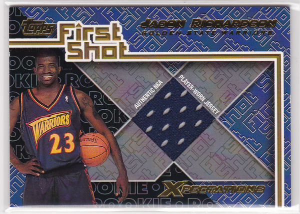 2001-02 Topps Xpectations First Shot #FS5 Jason Richardson