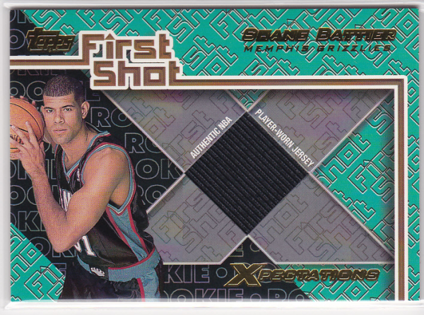 2001-02 Topps Xpectations First Shot #FS6 Shane Battier