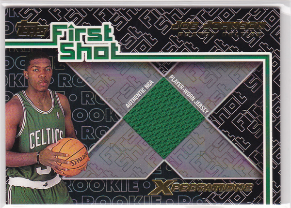 2001-02 Topps Xpectations First Shot #FS10 Joe Johnson