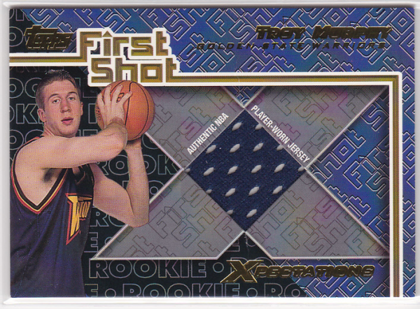 2001-02 Topps Xpectations First Shot #FS14 Troy Murphy