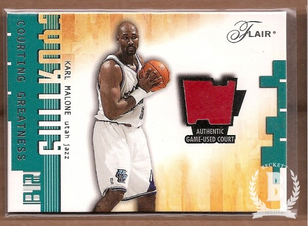 2001-02 Flair Courting Greatness #5 Karl Malone