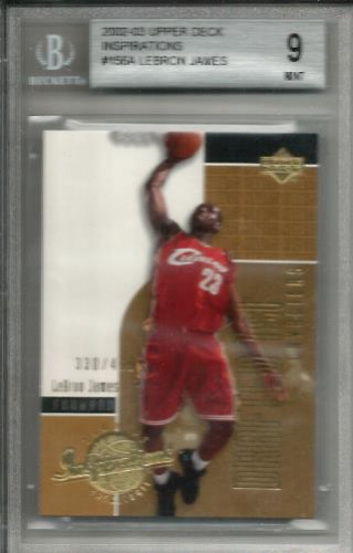 2002-03 Upper Deck Inspirations #156 LeBron James XRC