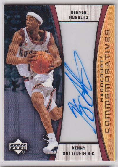 2002-03 Upper Deck Hardcourt Autographs #KSC Kenny Satterfield