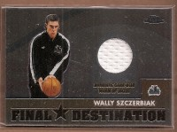 2002-03 Topps Chrome Destination Relics #FDWS Wally Szczerbiak