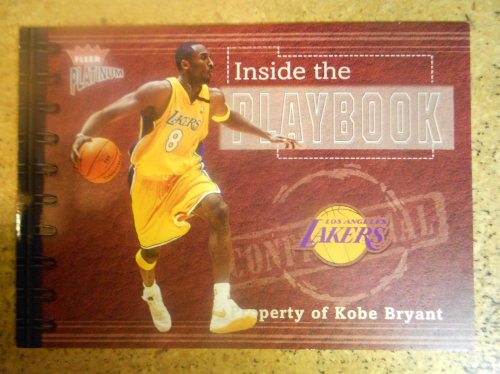 2002-03 Fleer Platinum Inside the Playbook #2PB Kobe Bryant