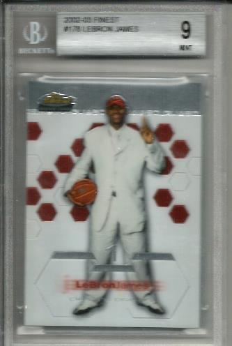 2002-03 Finest #178 LeBron James XRC