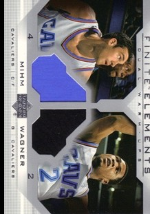 2003-04 Upper Deck Finite Elements Warmups #FE24 Chris Mihm/DaJuan Wagner