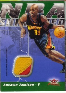 2003-04 Fleer Focus NBA Shirtified Jerseys Numbered #NSAJ Antawn Jamison
