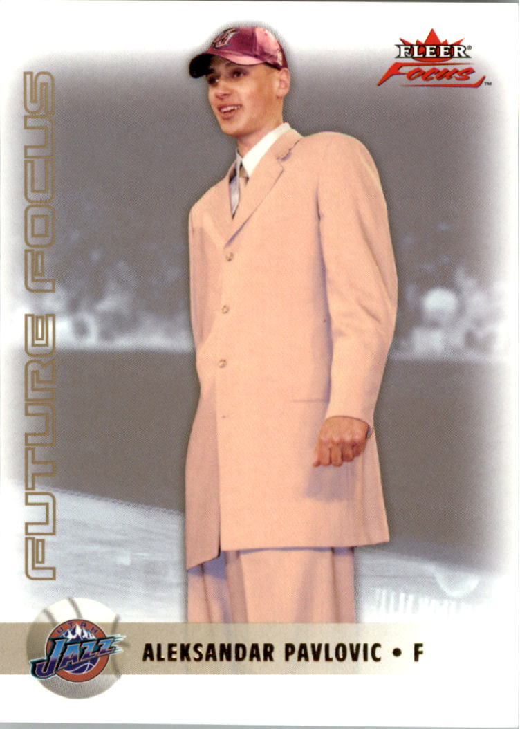2003-04 Fleer Focus Gold #153 Aleksandar Pavlovic