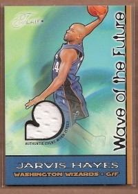 2003-04 Flair Wave of the Future Game Used #JH Jarvis Hayes