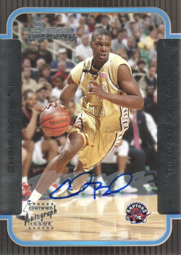 2003-04 Bowman #153 Chris Bosh AU RC