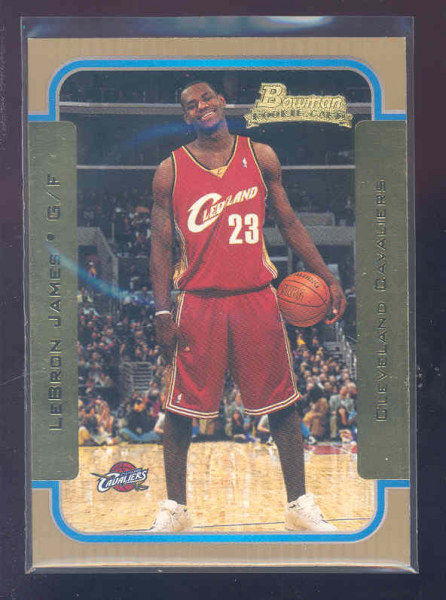 2003-04 Bowman Gold #123 LeBron James