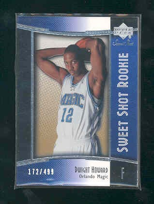 2004-05 Sweet Shot #131 Dwight Howard RC