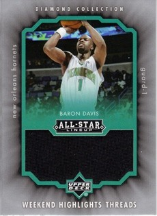 2004-05 Upper Deck All-Star Lineup Weekend Highlights Threads #BD Baron Davis