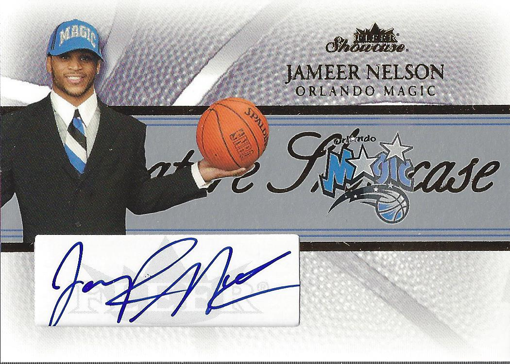 2004-05 Fleer Showcase Signatures #JN Jameer Nelson/150