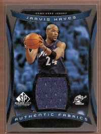 2004-05 SP Game Used Authentic Fabrics #JH Jarvis Hayes