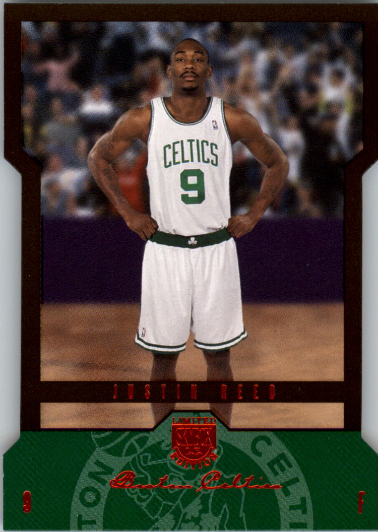 2004-05 SkyBox LE 50 #115 Justin Reed