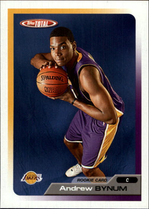 2005-06 Topps Total #339 Andrew Bynum RC