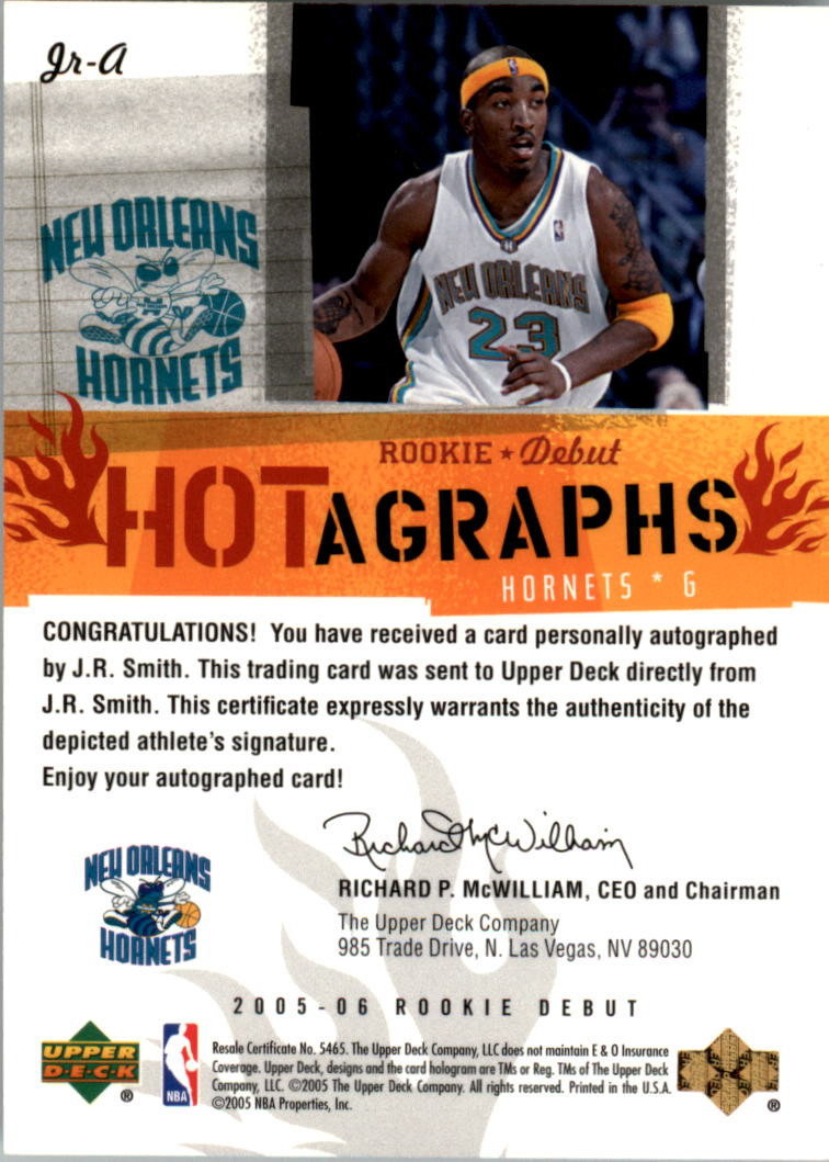 2005-06 Upper Deck Rookie Debut baloncesto hotagraphs Auto Recoger
