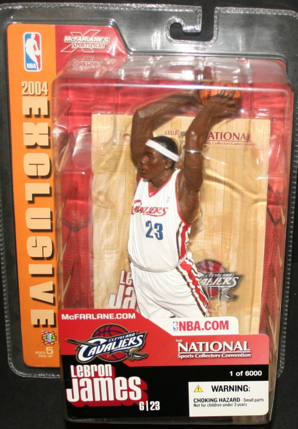 2004-05 McFarlane Basketball National Convention #20 LeBron James