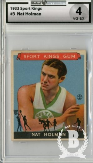 1933 Sport Kings #3 Nat Holman BK
