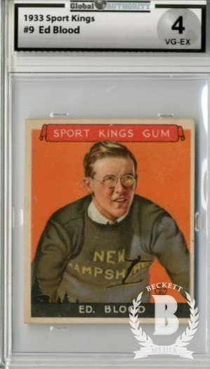 1933 Sport Kings #9 Ed Blood Skiing