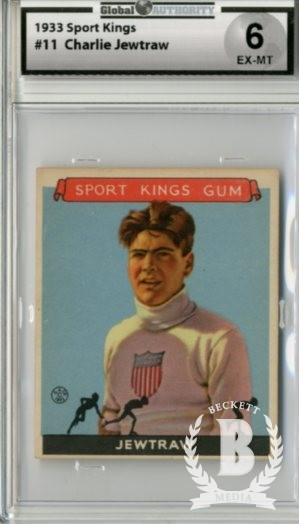 1933 Sport Kings #11 Charles Jewtraw Skating