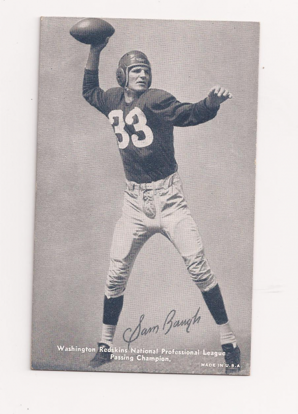 1948-49 Exhibits Sports Champions #FB1 Sammy Baugh