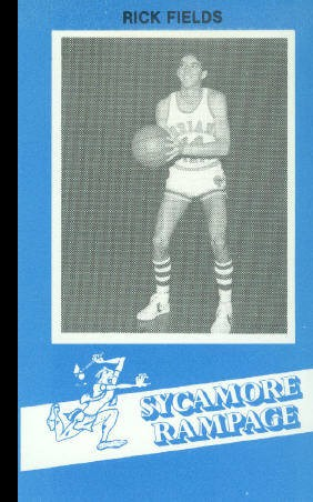 1982-83 Indiana State #29 Rick Fields BK