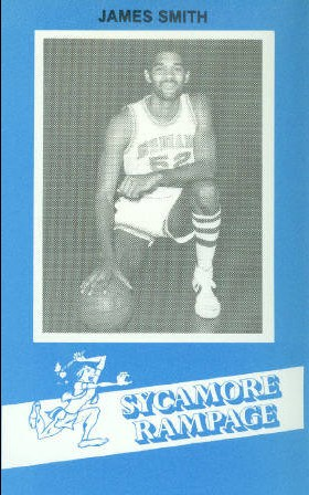 1982-83 Indiana State #64 James Smith BK