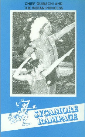 1982-83 Indiana State #78 Chief Ouibachi/Indian Princess