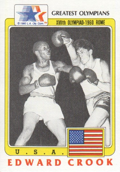 1983 Topps History's Greatest Olympians #4 Edward Crook