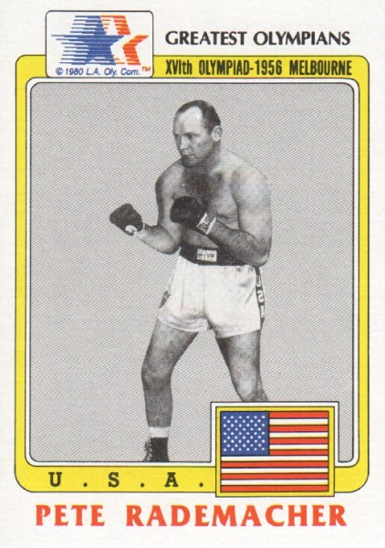 1983 Topps History's Greatest Olympians #43 Pete Rademacher
