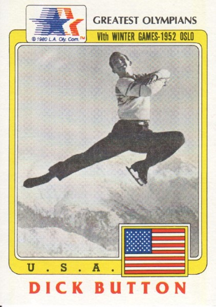1983 Topps History's Greatest Olympians #55 Dick Button
