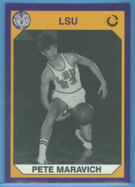 1990 LSU Collegiate Collection #1 Pete Maravich BK