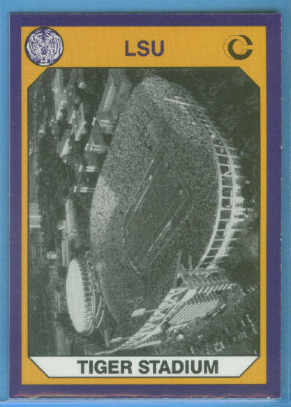 1990 LSU Collegiate Collection Promos #3 Tiger Stadium