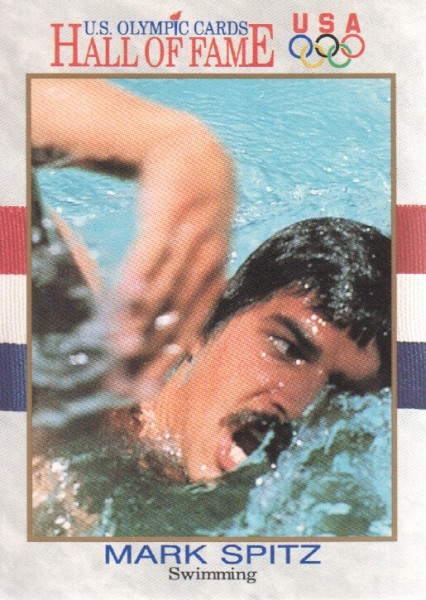 1991 Impel U.S. Olympic Hall of Fame #2 Mark Spitz