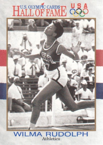 1991 Impel U.S. Olympic Hall of Fame #7 Wilma Rudolph