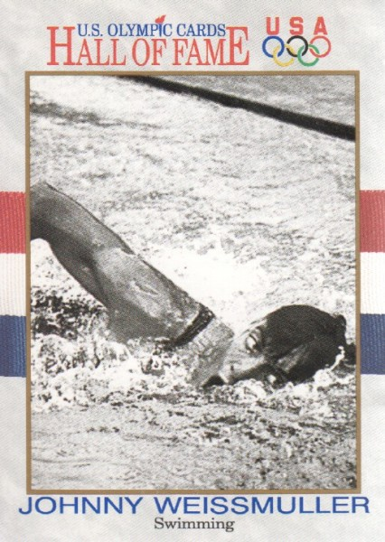 1991 Impel U.S. Olympic Hall of Fame #8 Johnny Weissmuller