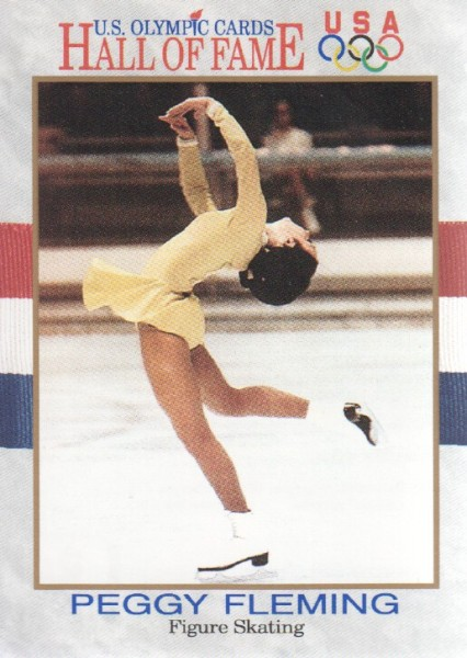 1991 Impel U.S. Olympic Hall of Fame #16 Peggy Fleming
